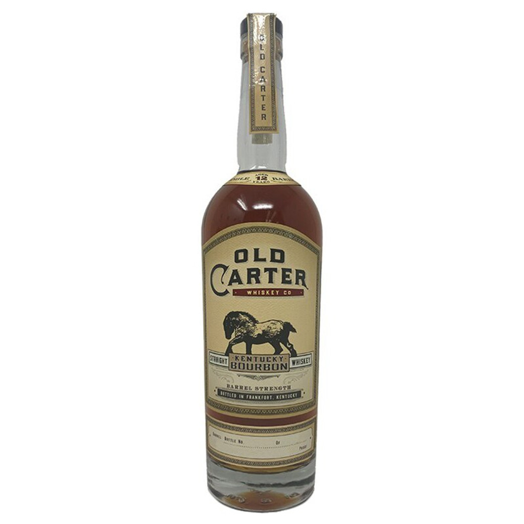 Old Carter Single Barrel Straight Kentucky Bourbon Aged 12 Years