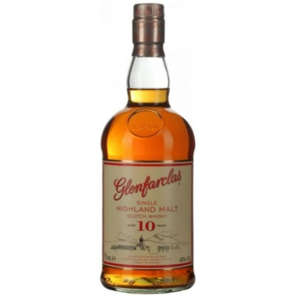 Glenfarclas 10 Year Old Single Malt Scotch Whisky