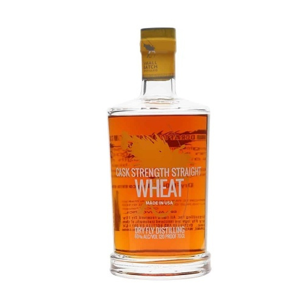 Dry Fly Cask Strength Wheat Whiskey