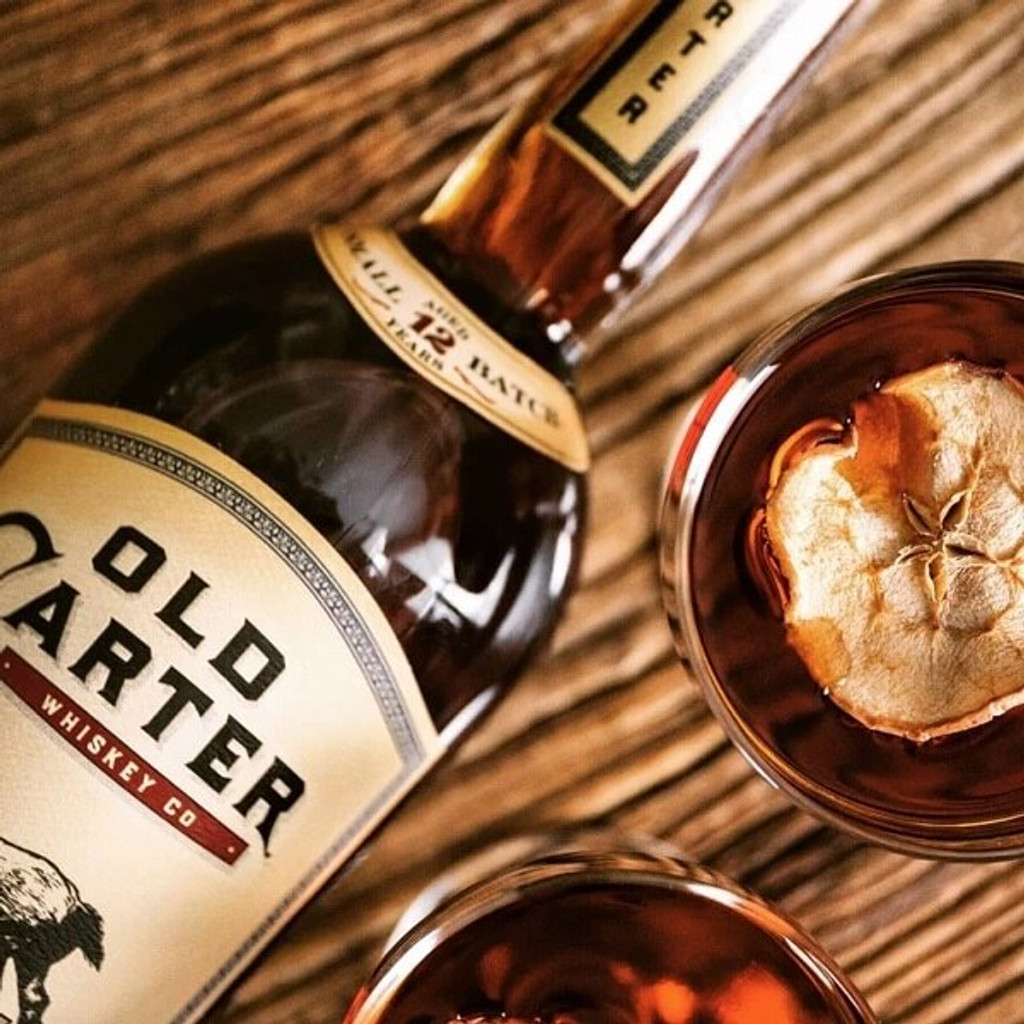Old Carter 12 Year Straight American Whiskey, Batch 3, 138.1 proof