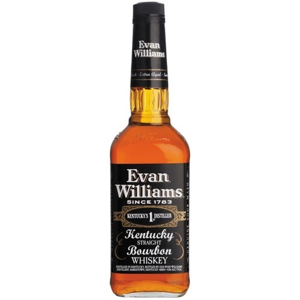 Evan Williams Black Label Kentucky Straight 1L