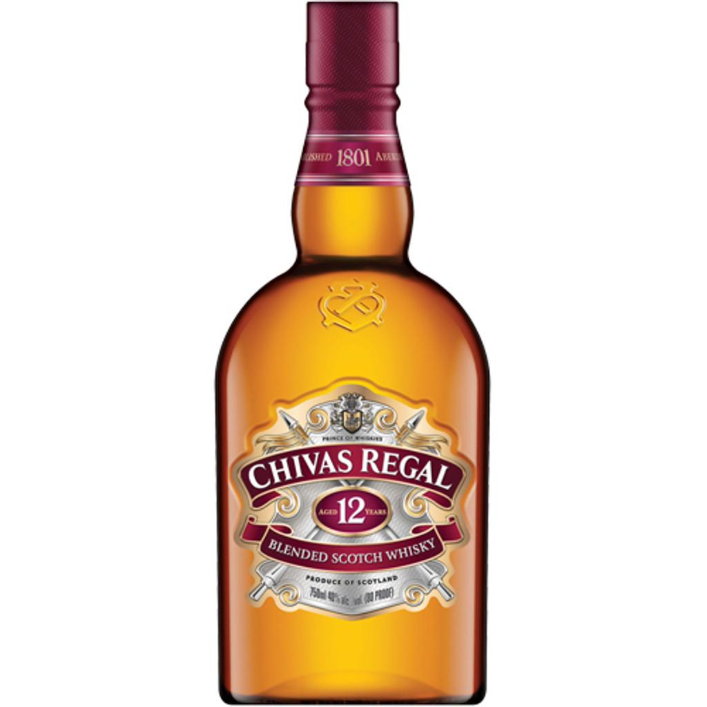 Chivas Regal 12 year Blended Scotch Liter