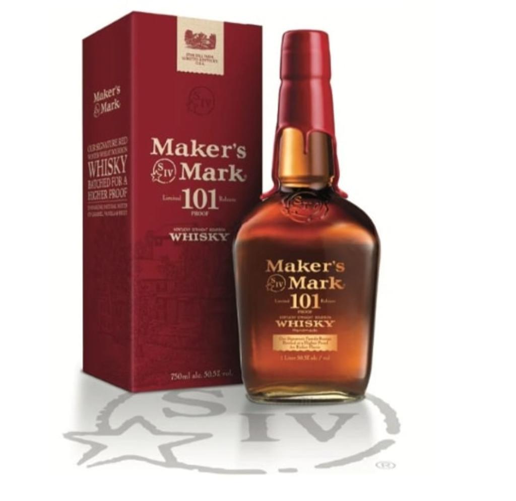 Maker's Mark 101 Proof Limited Edition Kentucky Straight Bourbon