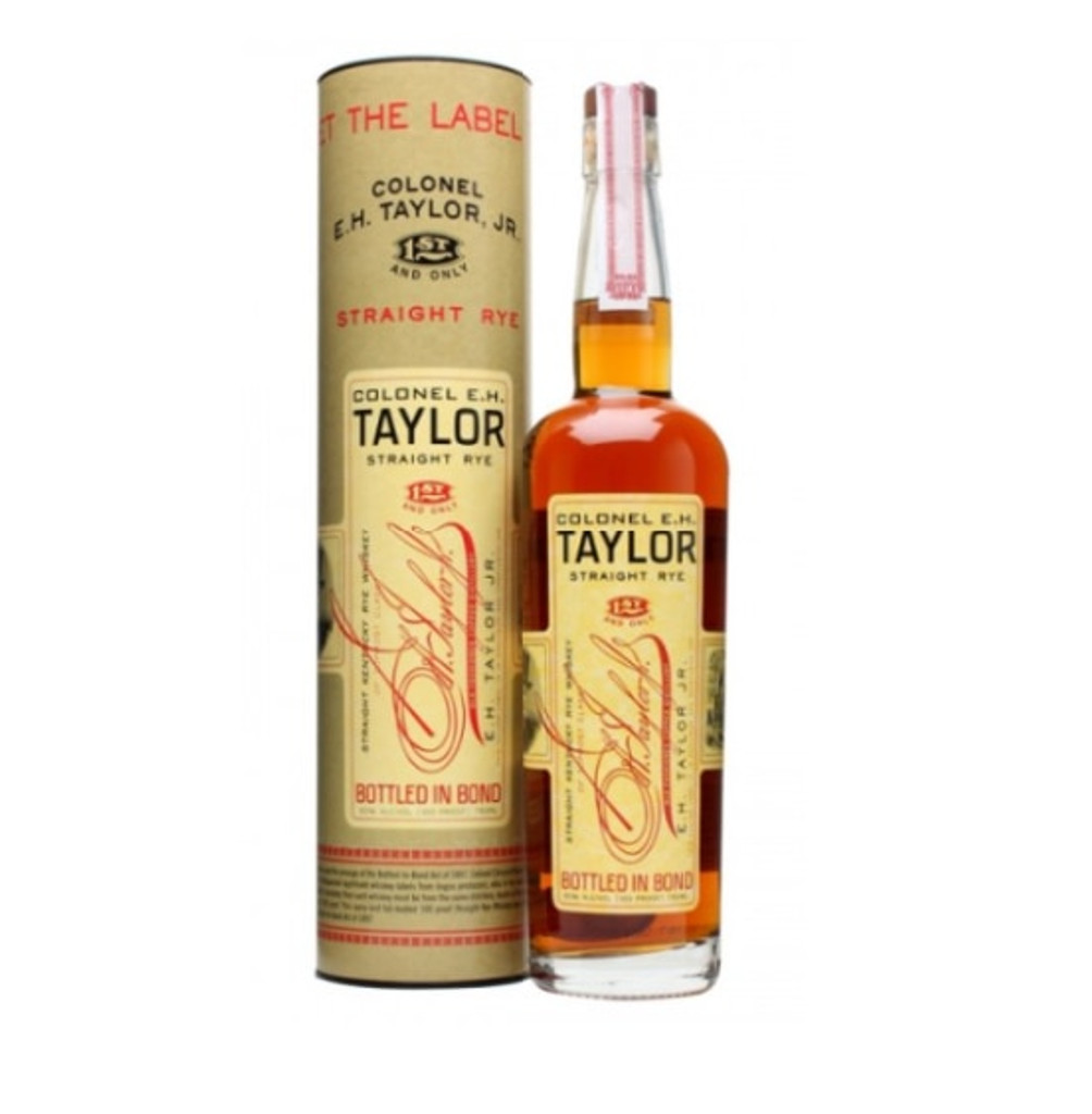 Colonel E. H. Taylor Straight Rye Whiskey Bottled in Bond