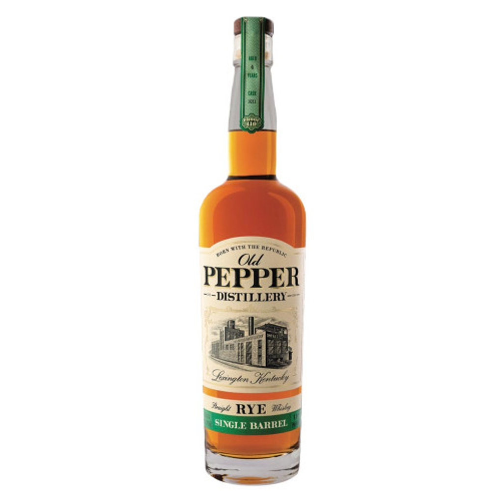 Old Pepper Rye Whiskey Single Barrel