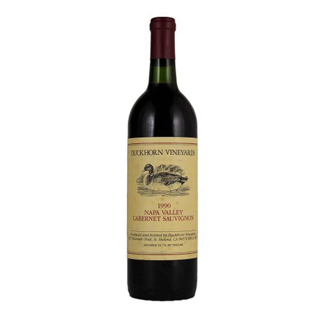 1990 Duckhorn Cabernet Sauvignon Napa Valley 6L