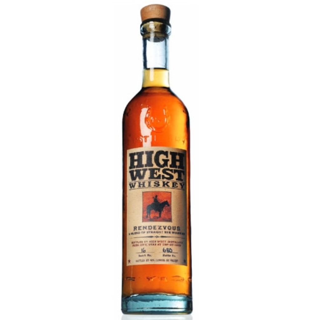 High West Distillery Rendezvous Straight Rye Whisky