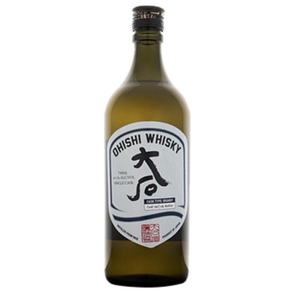 Ohishi Brandy Cask Japanese Rice Whisky