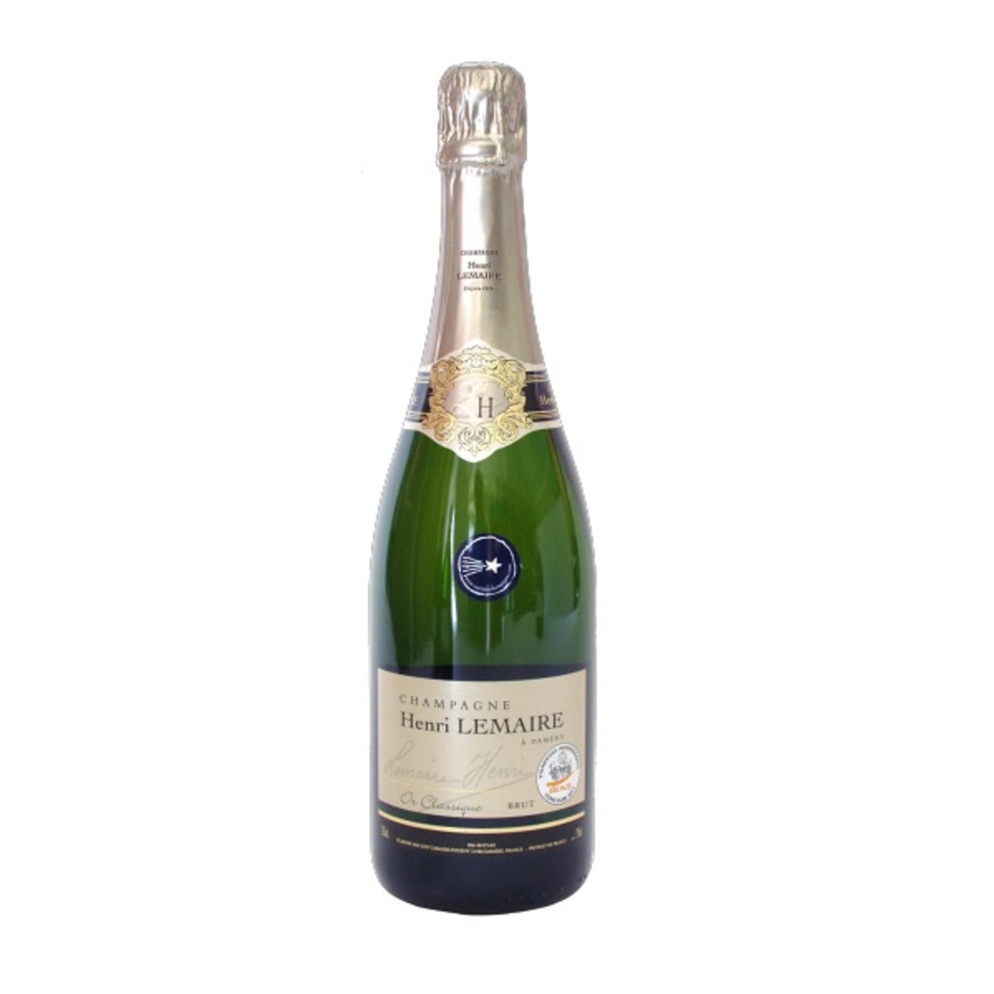 NV Henri Lemaire Or Classique Brut Champagne