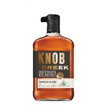 #2) Knob Creek Cask Strength Rye Whiskey Barreled 2009