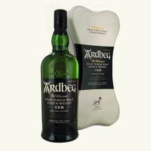 Ardbeg 10 Year Old Islay Single Malt Scotch Whisky (With  Ardbone Gift Tin)