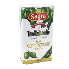 Sagra Extra Virgin Olive Oil 3 Liter