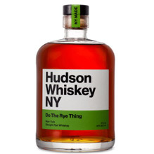Hudson Do The Rye Thing Straight Rye Whiskey