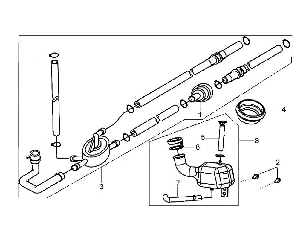 01 Fuel Strainer - HD 200 Evo