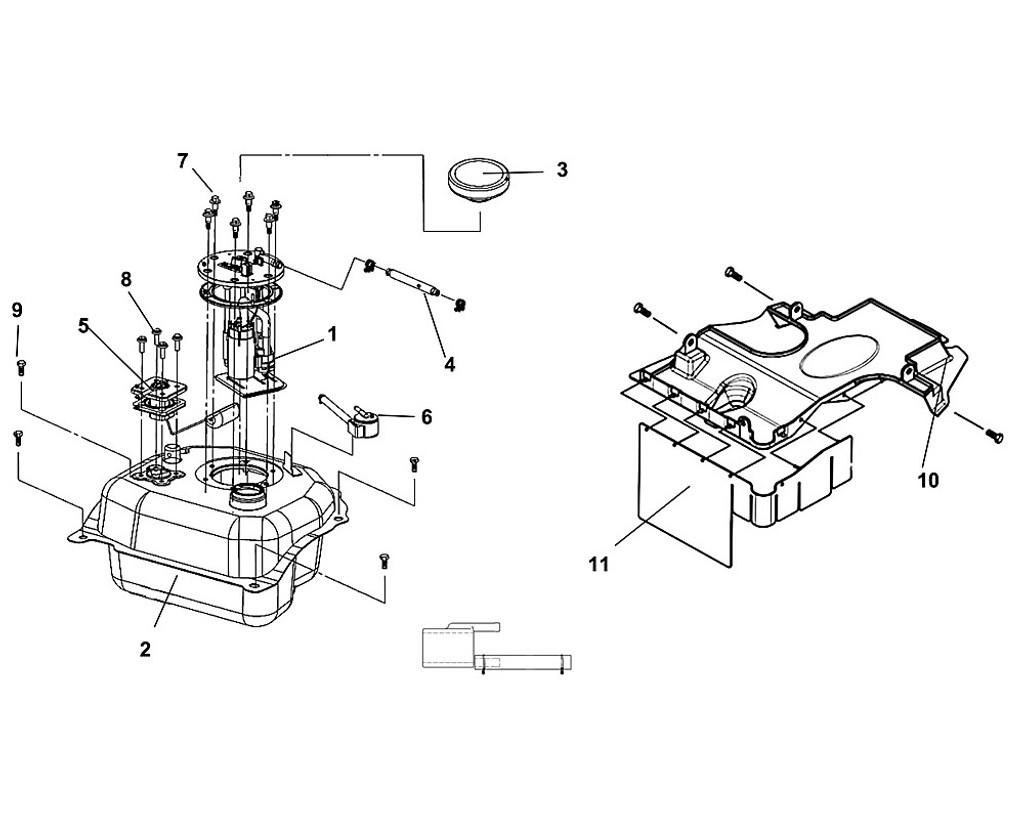 03 Fuel Filler Cap COMP - Fiddle III