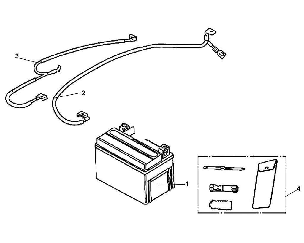 01 Battery ASS'Y(MT*7A-BS) - Fiddle III