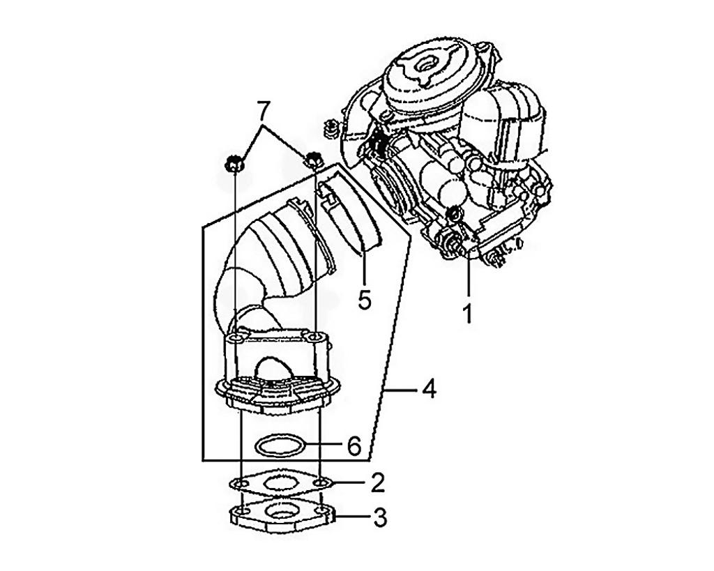 01 Carburetor Assy - Mio 50