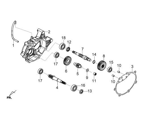 09 Thrust Washer 15mm - Citycom S 300i