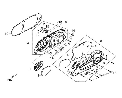 02 L. Bearing Setting Plate - Citycom S 300i