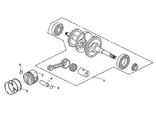 05 Piston Pin Clip - Fiddle III