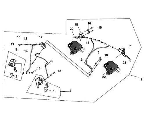 01 Brake System ASS'Y - Fiddle III