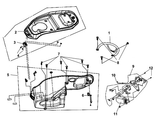 03 Seat Hinge COMP - Fiddle III