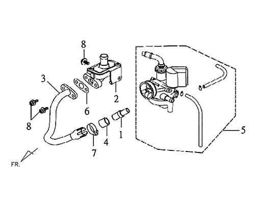 04-AIR PIPE GASKET - Symba 100