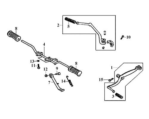 02-KICK STARTER ARM ASSY - Symba 100