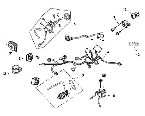 01 Roll Over Sensor ASSY - Fiddle III