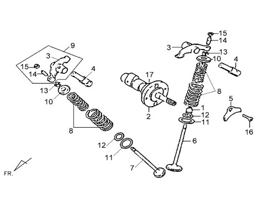 07 Cam Chain Guide - Wolf Classic 150
