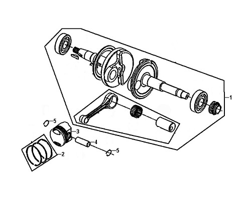 05-Piston pin clip  - Mio50 2019