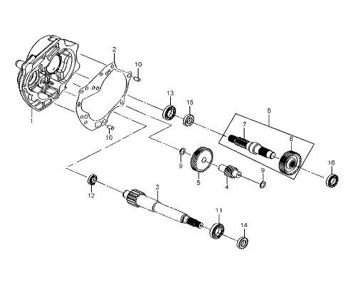 12 Ball Rad. Brg. CSB201 C3 - Mio 50