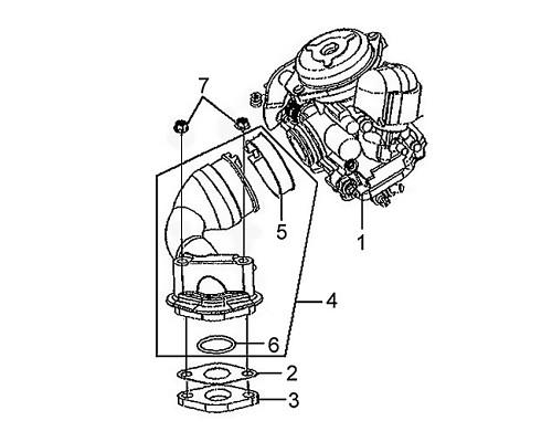 03 Carb. Insulator - Mio 50