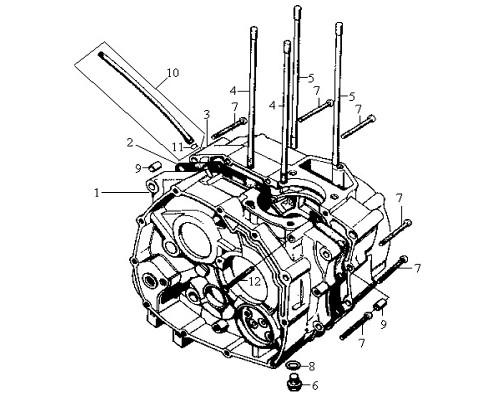 08 Drain Plug Washer 12mm - Wolf Classic 150