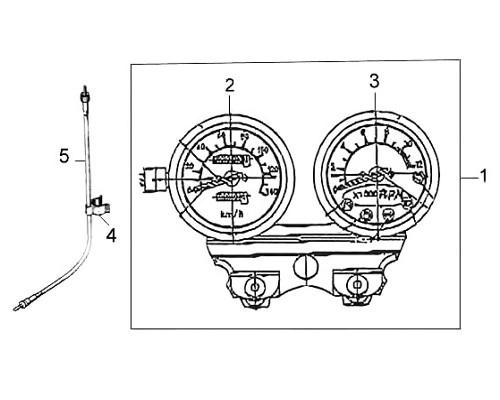 02 Speedometer Comp - Wolf Classic 150
