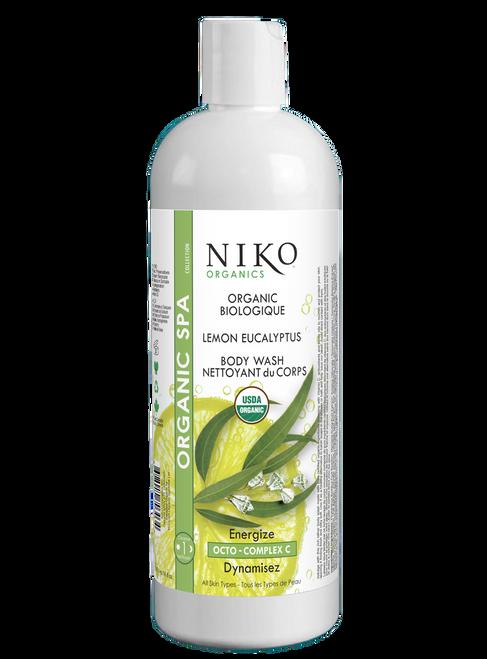 Organic Lemon Eucalyptus Body Wash