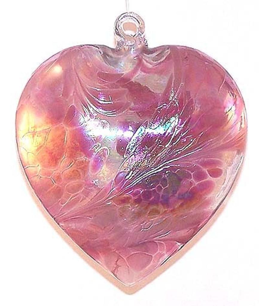 "Abalone Heart  ""Tea Rose"""
