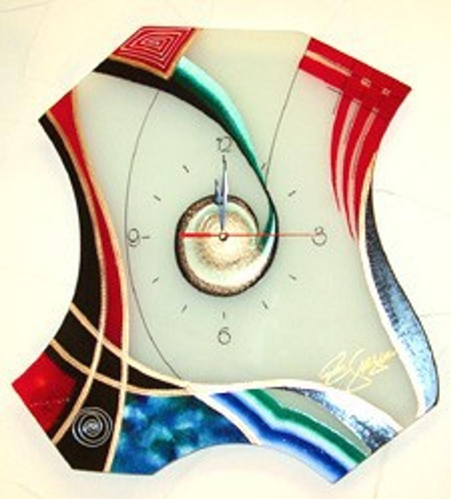 Ribbons Clock