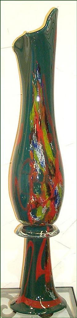 Green Symphony Vase