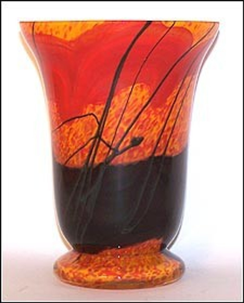 Footed Vase / The Rock