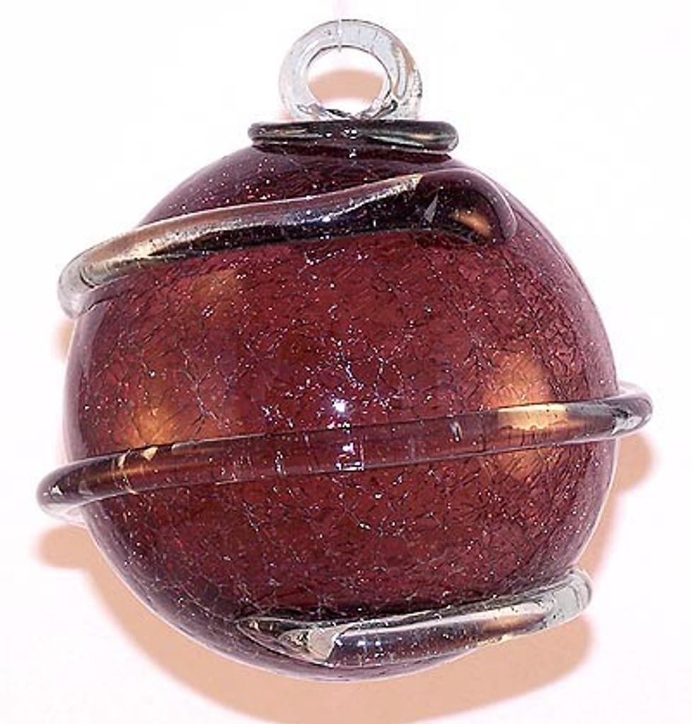Transparent Amethyst Orbit Crackle