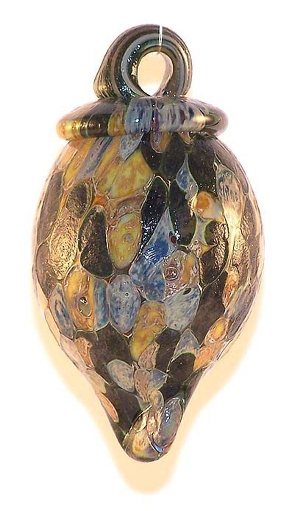 Acorn Iridescent Amber / Green