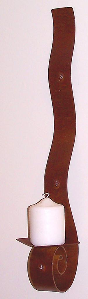 Large Ribbon Candle Sconce