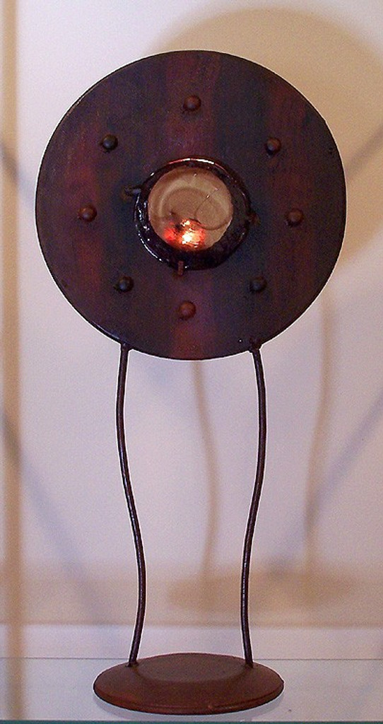 Circle Rivet Candle Stand