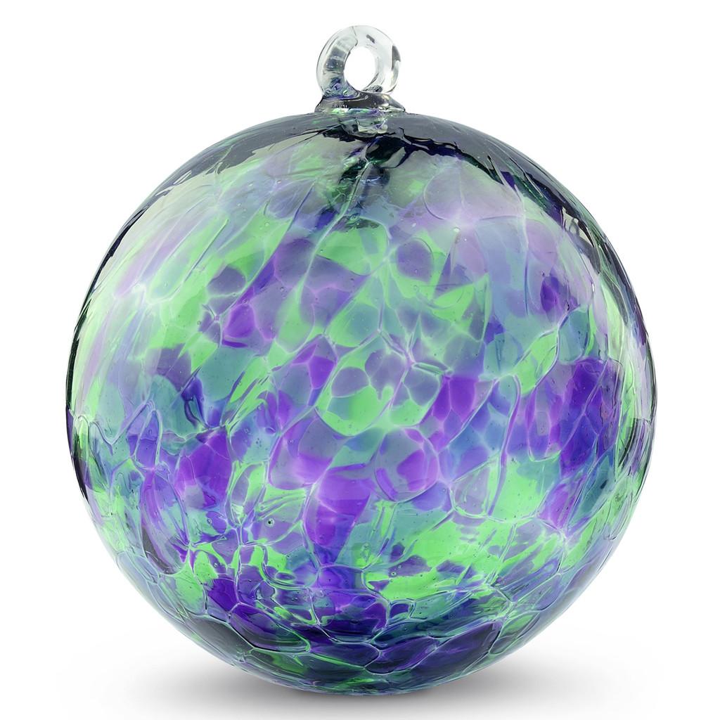 Purple, Green & Blue 6 Inch Kugel