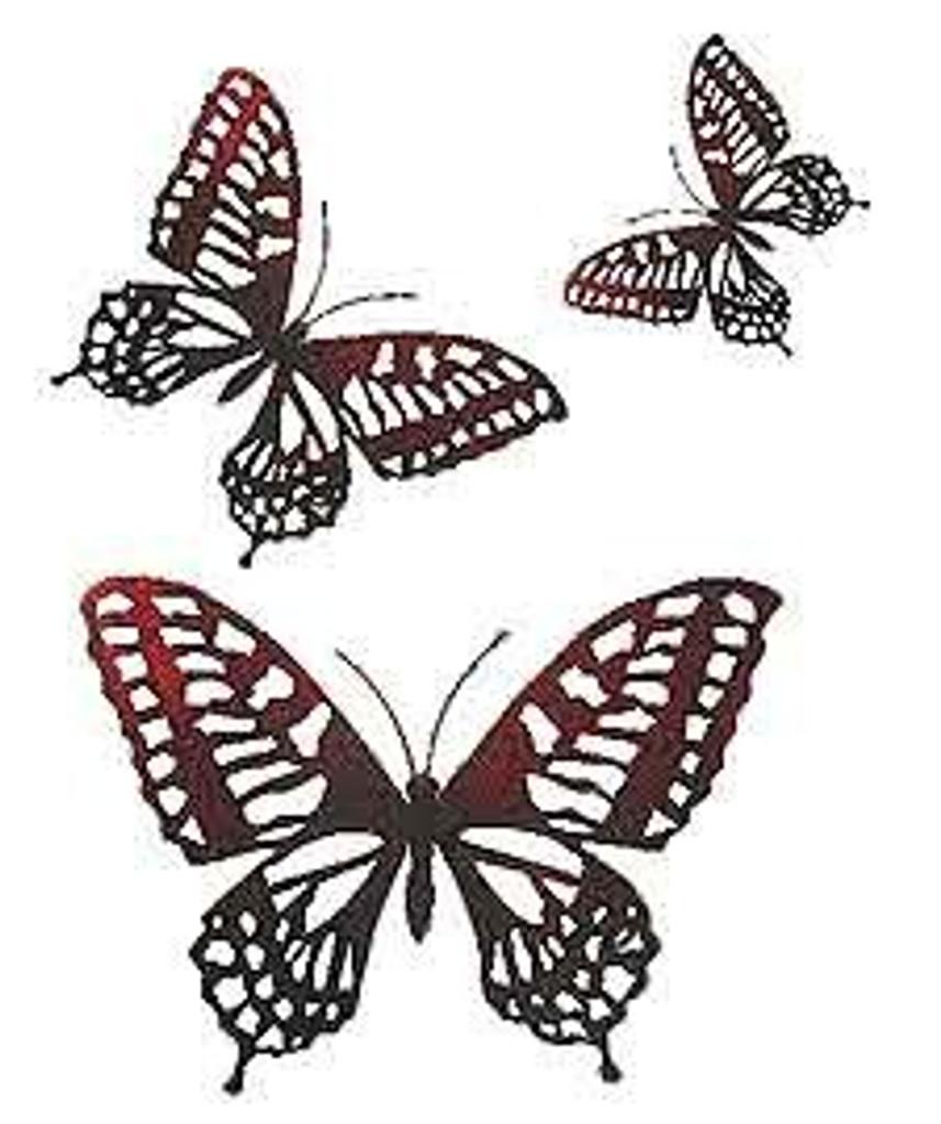 Garden Butterflies Set A