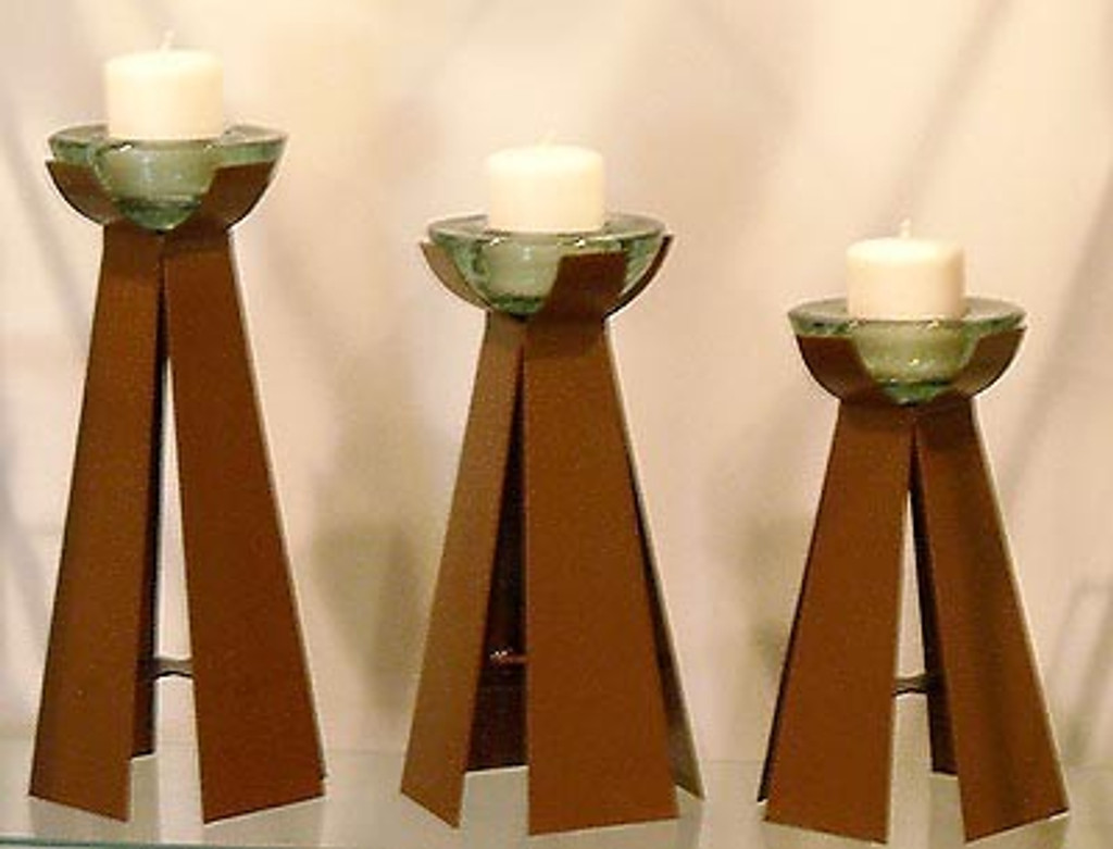 Tazon Candle Holders Set of 3