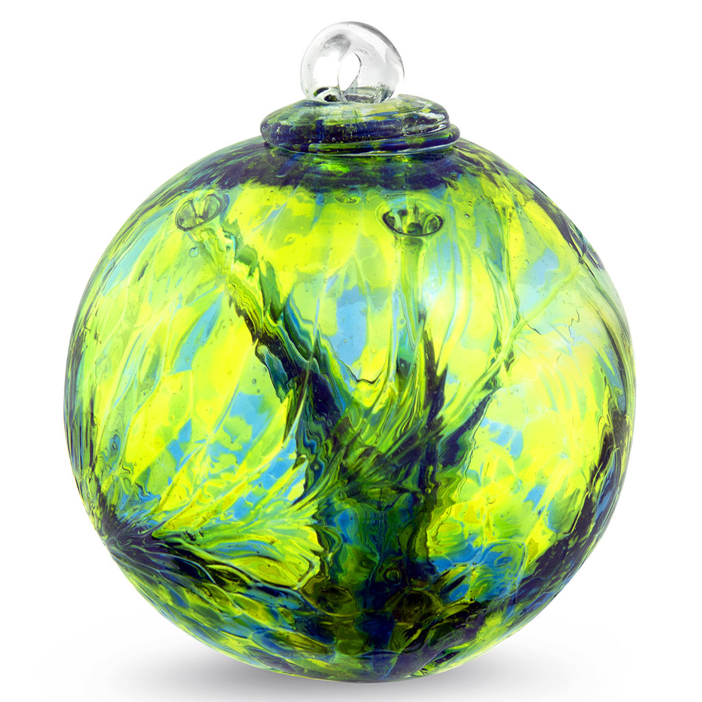 Small Witch Ball Kind of Blue / Kind of Green
