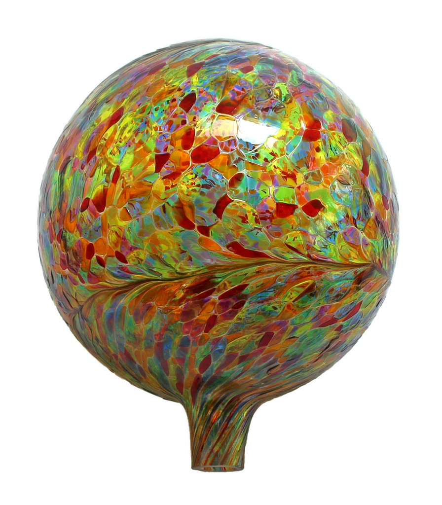 """Multicolor"" Garden Gazing Ball"