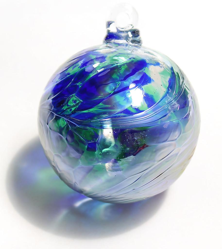 Cobalt Blue / Moss Green Twist Iridized Finish